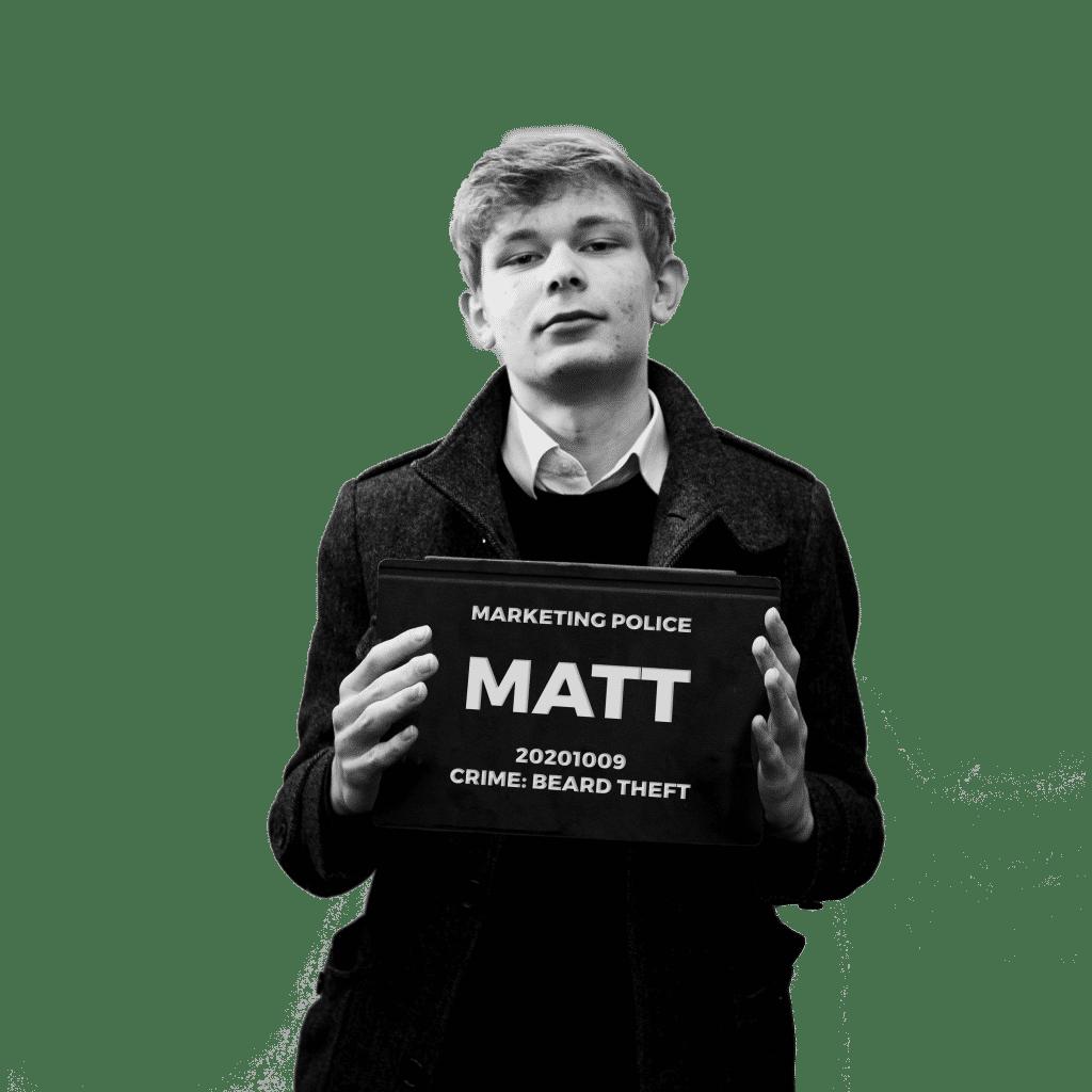 Matt Fox Bloody Marketing!!