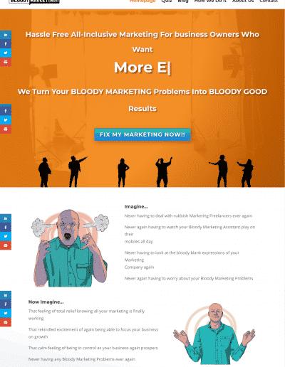 Website Design Bloody Marketing!!